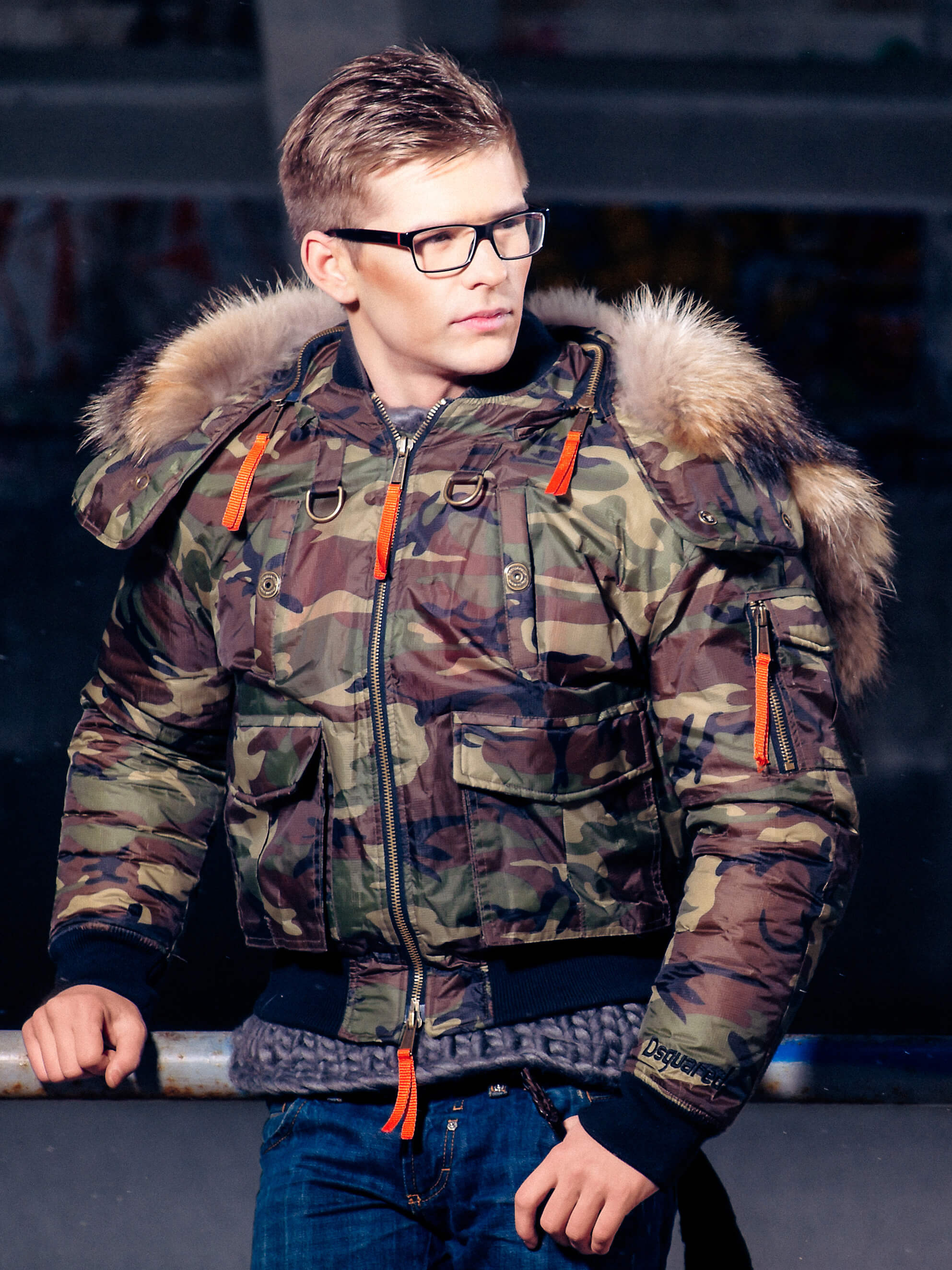 Commercial of men portrait for ecommerce in the winter jacket and for social platforms photo made by Fantastic Imago Branding, Advertising and Consulting Agency