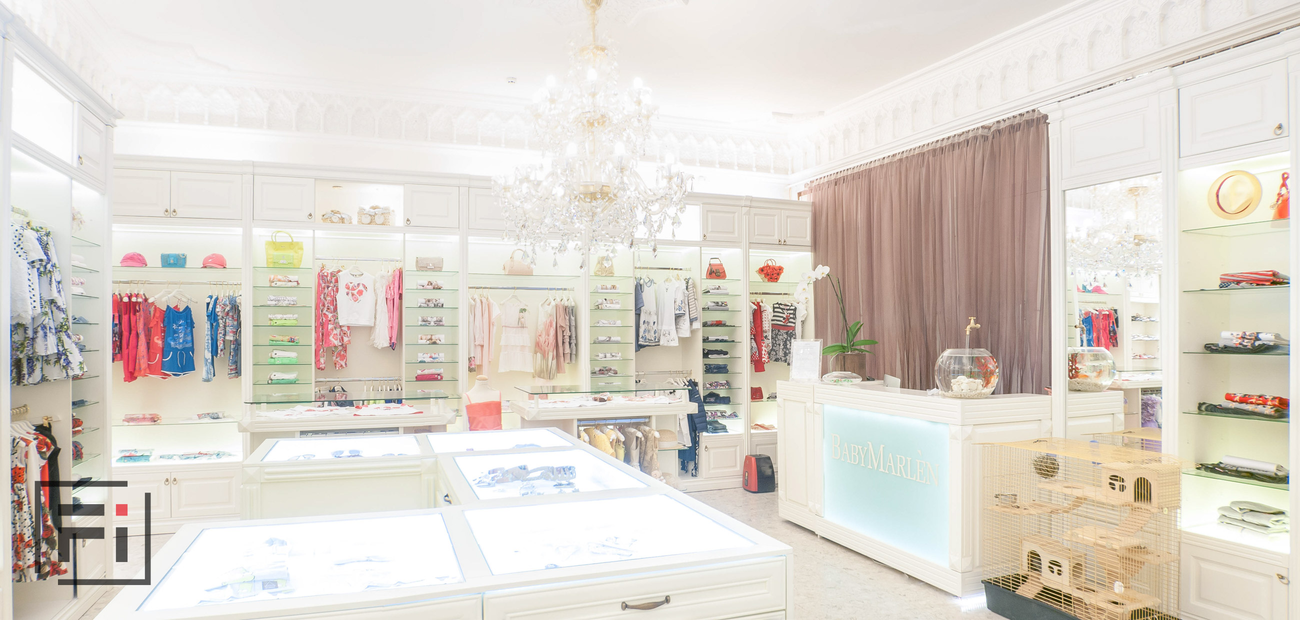 Baby Marlen Helen real estate photo editing companies real estate photo retouching white interior of children store photo by Fantastic Imago-4