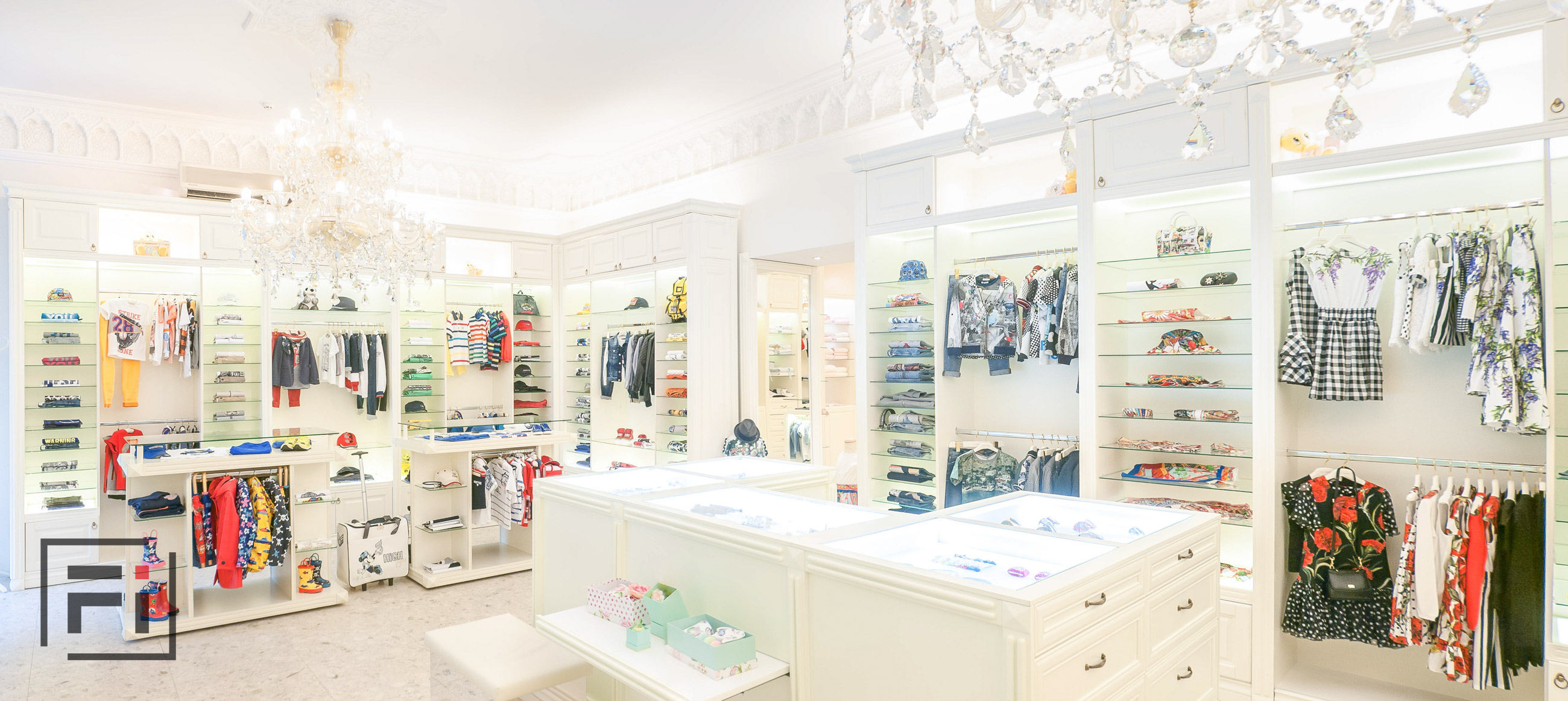 Baby Marlen Helen real estate photo editing outsourcing outsource real estate photo editing commercial white interior of white store for children Kyiv photo by Fantastic Imago-5